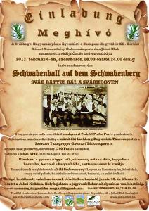 Svábhegyi batyus bál - 2017